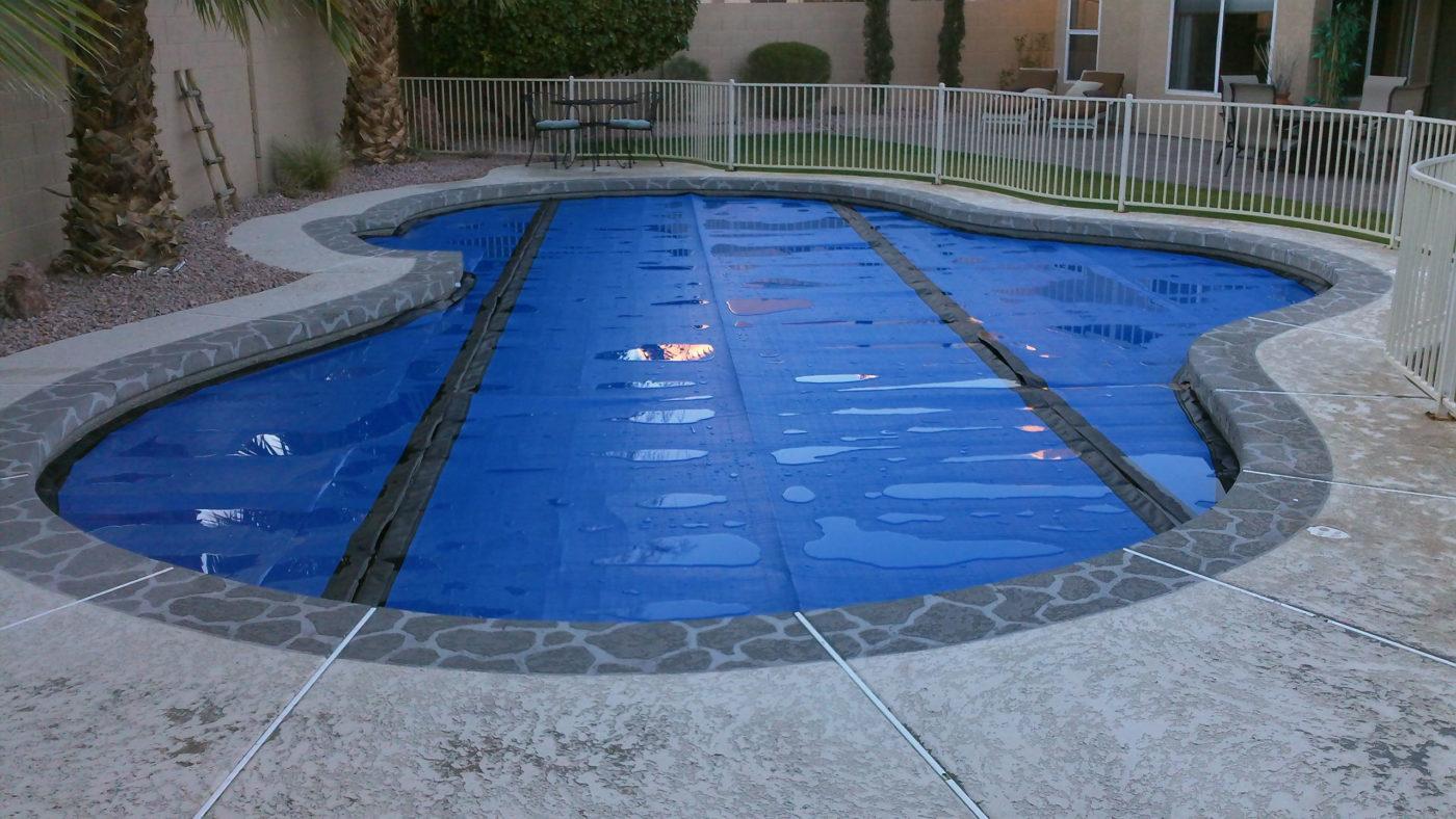 new pool camera installation
