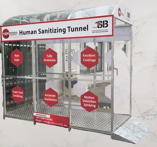 Sanitization Tunnels & Disinfectant Tunnel Dubai Abu Dhabi